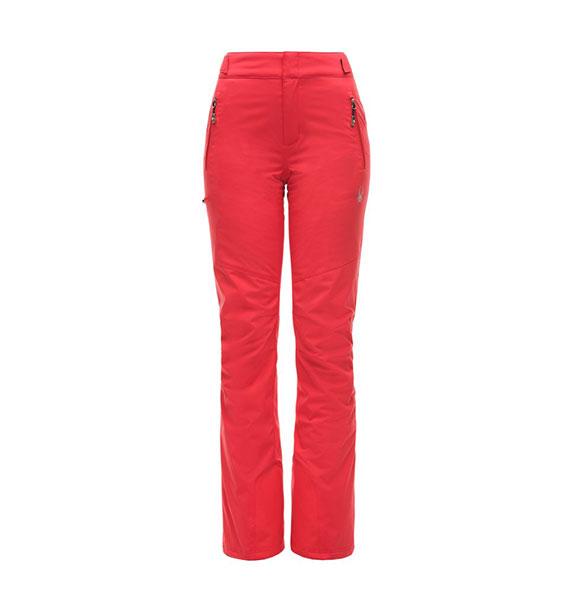 Spyder W WINNER TAILORED Pant dámské červené lyžařské kalhoty hib/hib