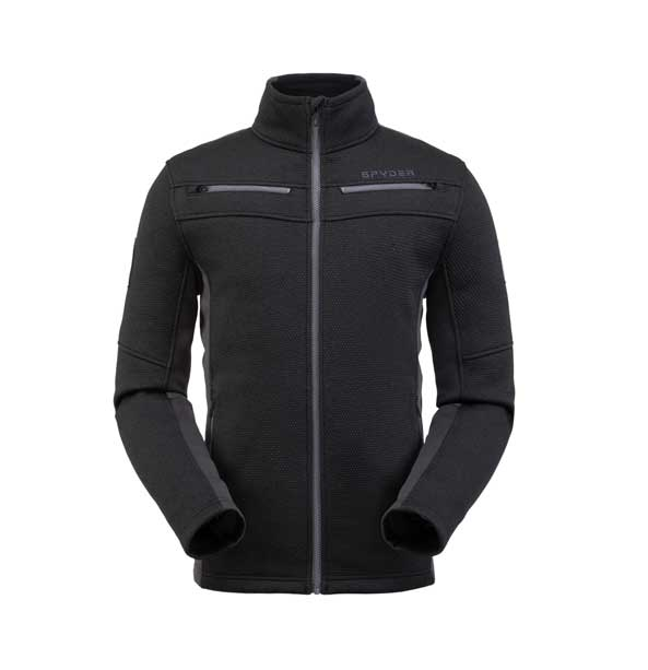 Spyder M WENGEN ENCORE FULL ZIP-Jacket-black