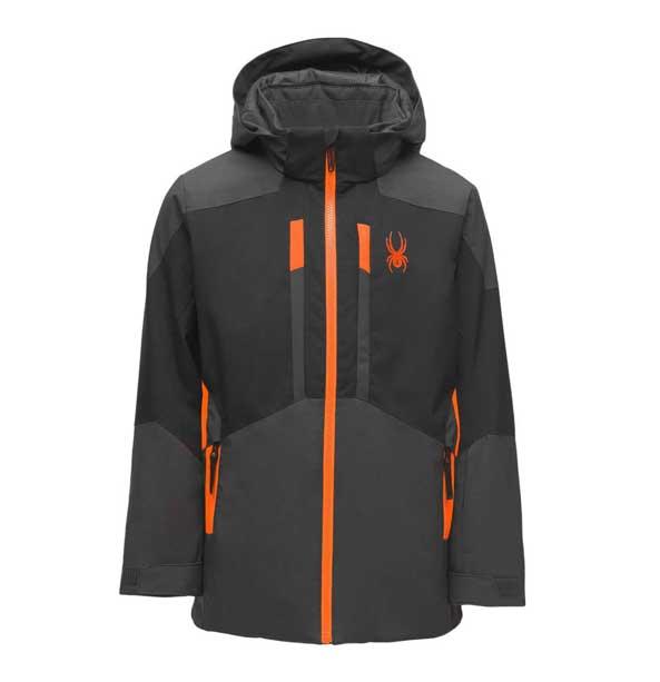 Spyder BOYS BRINK-Jacket-ebony chlapecká lyžařská bunda
