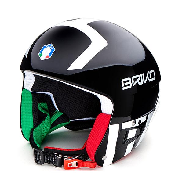 Briko VULCANO FIS 6.8 FISI - BLACK WHITE lyžařská helma