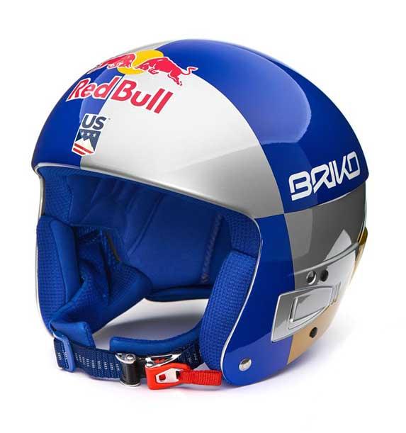 Briko VULCANO FIS 6.8 RB LVF SILVER BLUE GOLDSILVER BLUE GOLD lyžařská helma