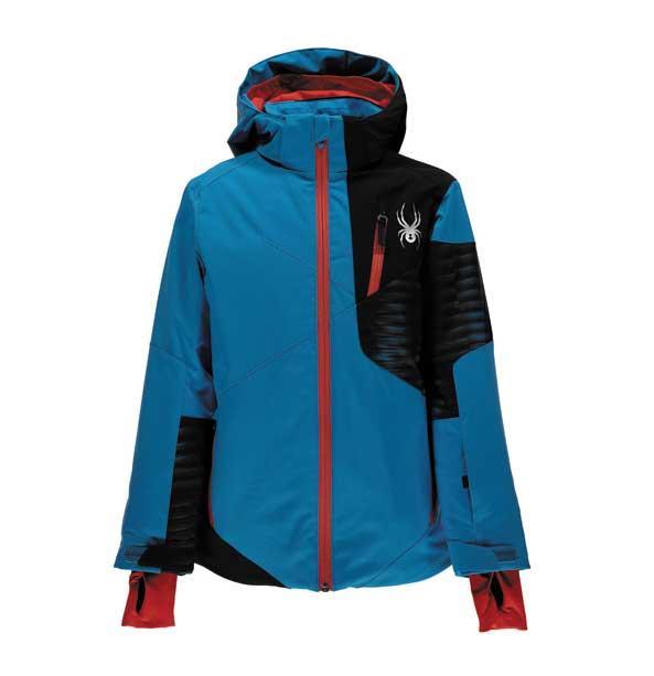 Spyder ENFORCER chlapecká zimní bunda modrá
