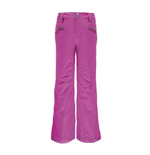 Spyder VIXEN TAILORED dívčí lyžařské kalhoty růžové