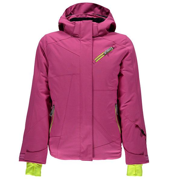 Spyder Girl's LOLA dívčí růžová zimní lyžařská bunda