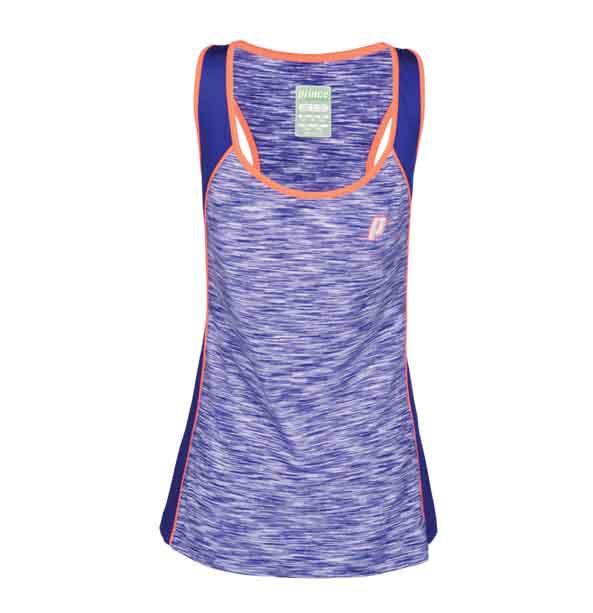 Prince Space dye racer back top korálové  dámský tenisový top