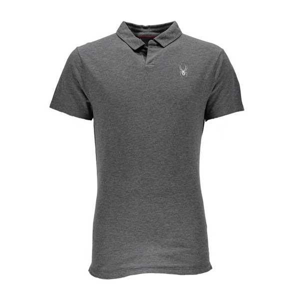 Spyder Vintage Polo pánské tričko šedé