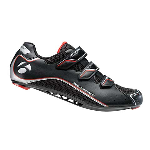 Bontrager Race Road Mens Black - cyklistická obuv