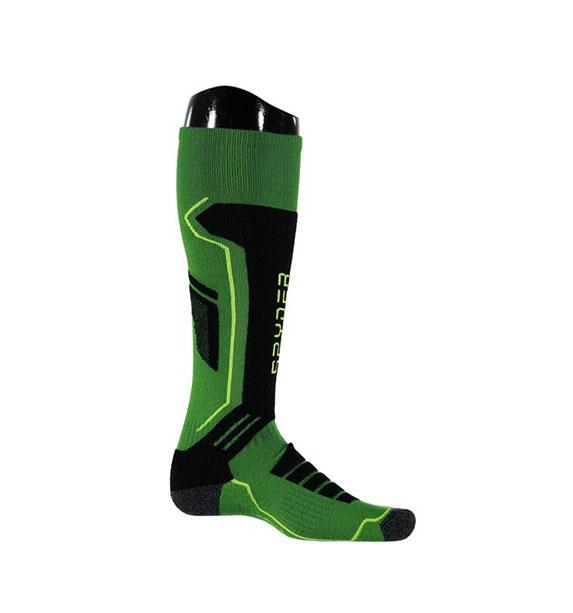 Spyder M SPORT MERINO pánské zelené lyžařské podkolenky