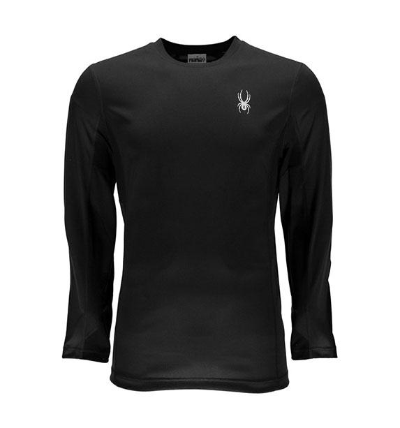 Spyder M ALPS TECH TEE LS pánské černé funkční triko s dlouhým rukávem