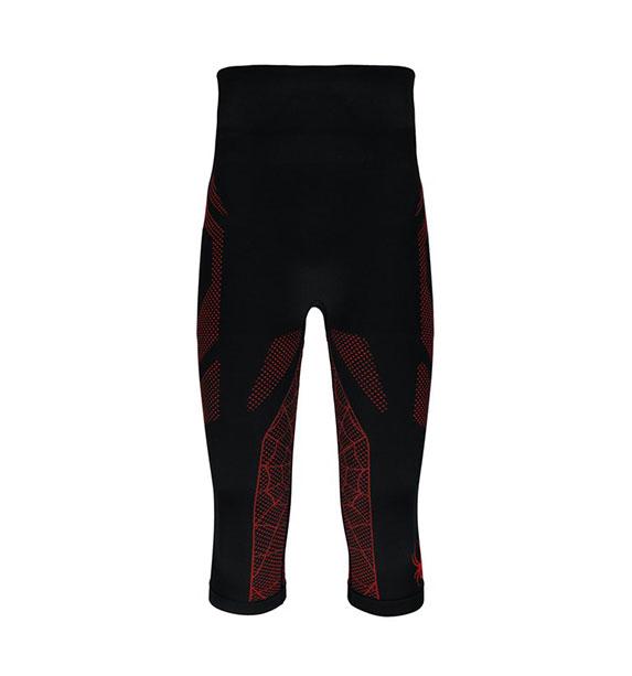 Spyder M CAP pánské funkční 3/4 kalhoty blk/red