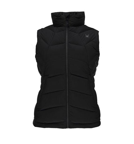 Spyder W SYRROUND dámská černá péřová vesta