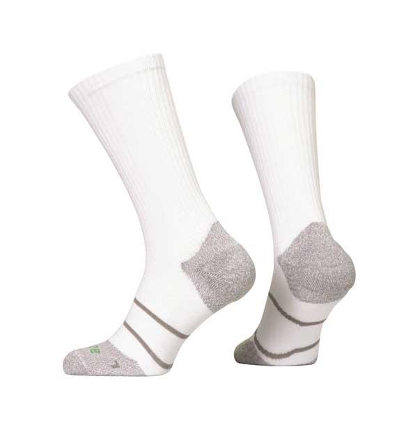 Prince pánské tenisové ponožky TOUR ARIKOOL CREW 1 pár - bílá/šedá