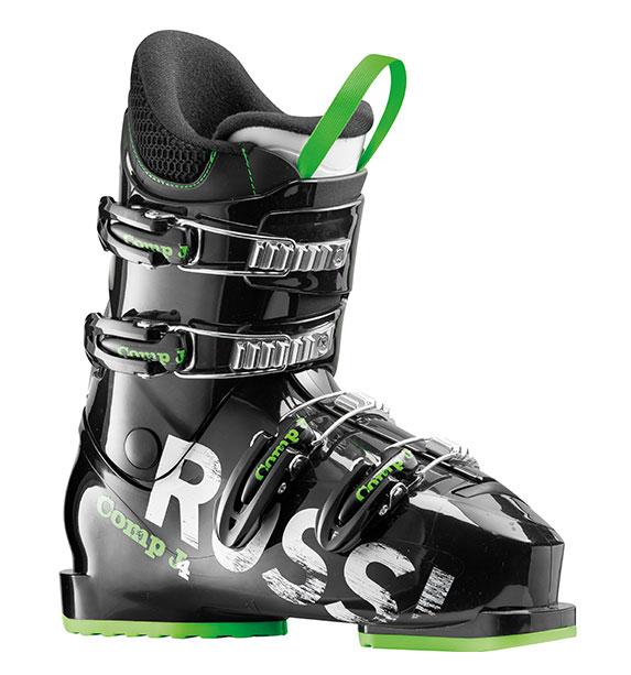 Rossignol Comp J4 black dětské lyžařské boty