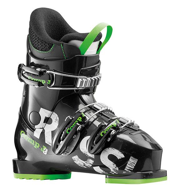 Rossignol Comp J3 black dětské lyžařské boty