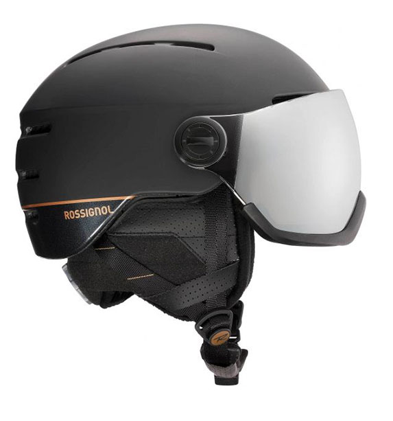 Rossignol Visor Women black dámská černá lyžařská helma adff8ecf64e