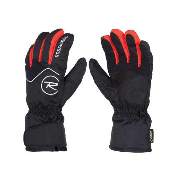 0baaa67fa5f Rossignol R- FORCE GTX pánské lyžařské rukavice červeno-černé