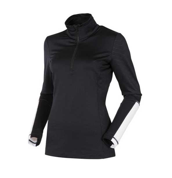 491675e2e51 Rossignol BB 1 2 ZIP dámské funkční triko s dlouhým rukávem černé