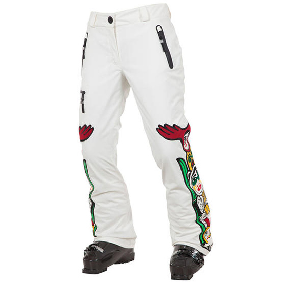 Dámské lyžařské kalhoty Rossignol W KIMO bílé  5ed9c38c86
