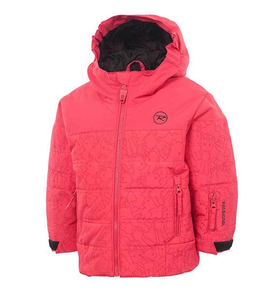Rossignol KID MINI dětská zimní bunda růžová