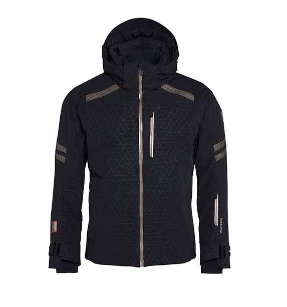Rossignol ATELIER COURSE JKT pánská černá lyžařská bunda