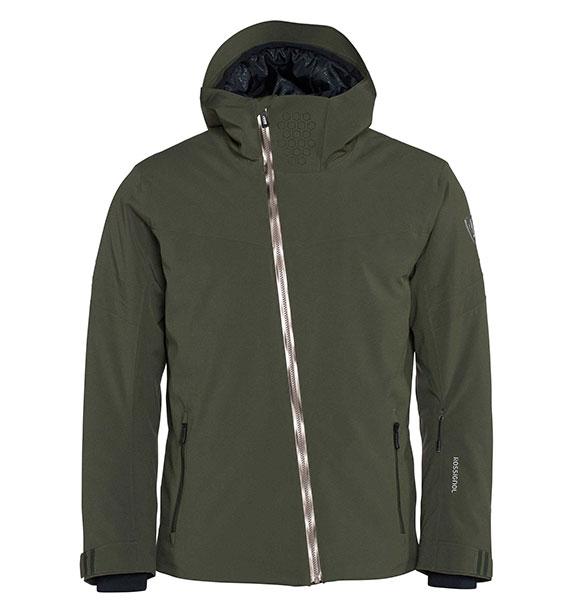 Rossignol Geant JKT pánská khaki zimní lyžařská bunda