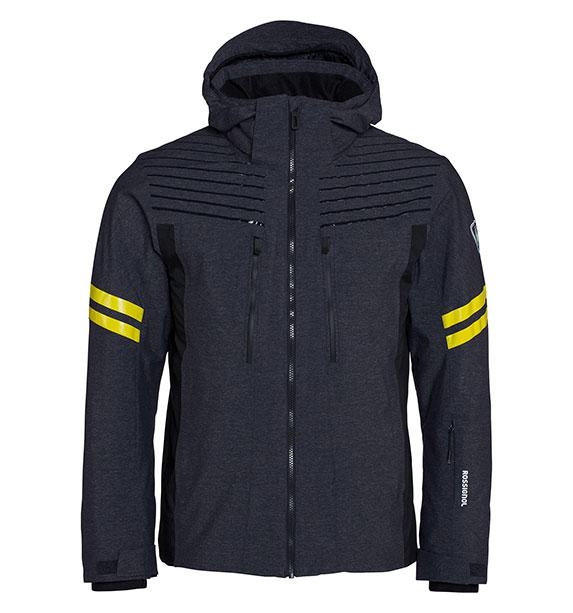Rossignol COURBE OXFORD JKT pánská šedá zimní lyžařská bunda
