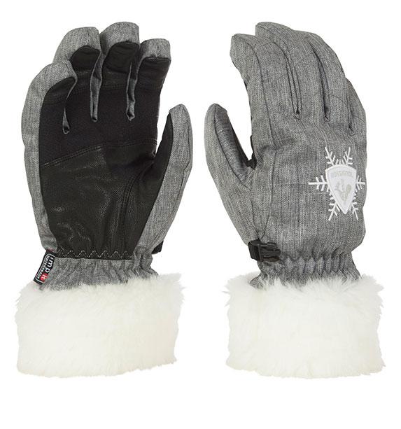 cbdde6de114 Rossignol  Rossignol Woman MEIJE IMPR G dámské šedé zimní rukavice