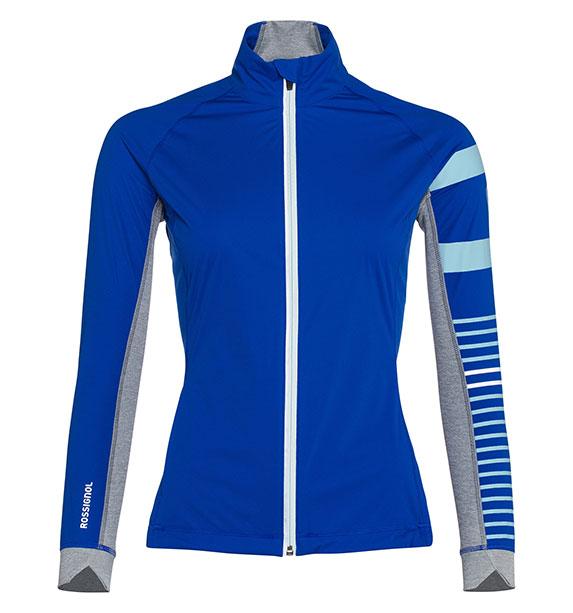 Rossignol Woman POURSUITE JKT dámská modrá bunda