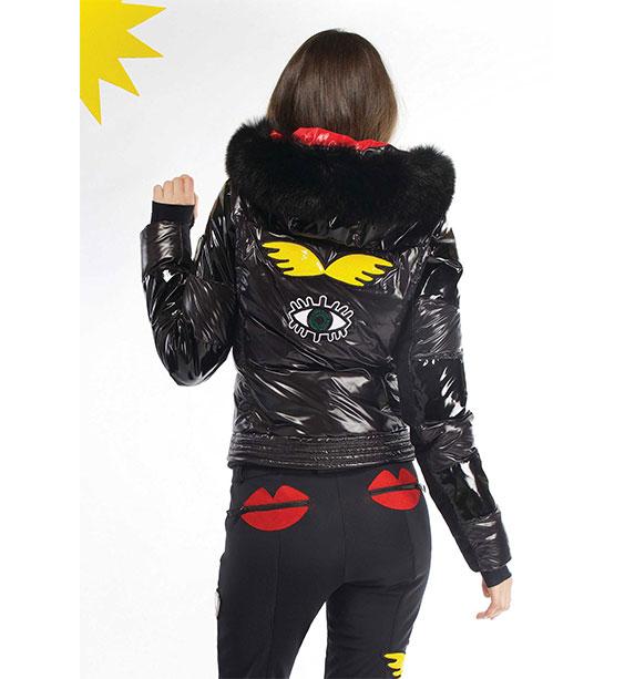 Rossignol Woman KAISSY DOWN JKT dámská černá zimní bunda