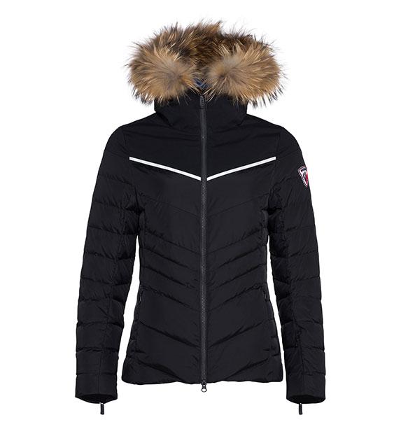 Rossignol Woman MAJOR JKT dámská černá zimní bunda