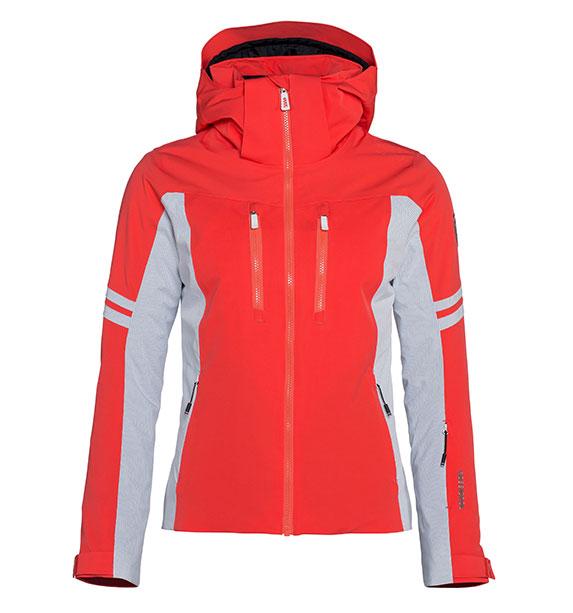 Rossignol Woman COURSE JKT dámská korálová lyžařská bunda
