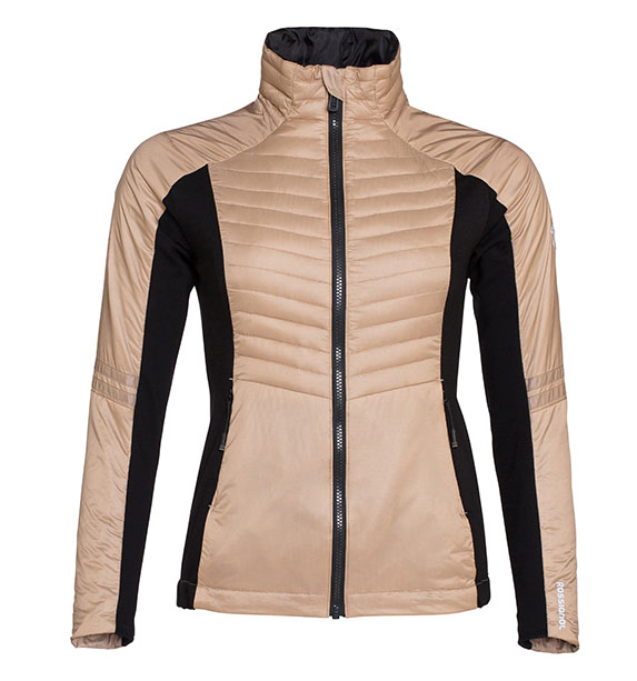 Rossignol Woman COURSE LIGHT dámská béžová zimní bunda