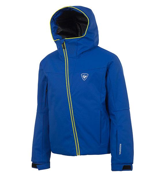 Rossignol BOY CONTROLE JKT chlapecká modrá lyžařská bunda