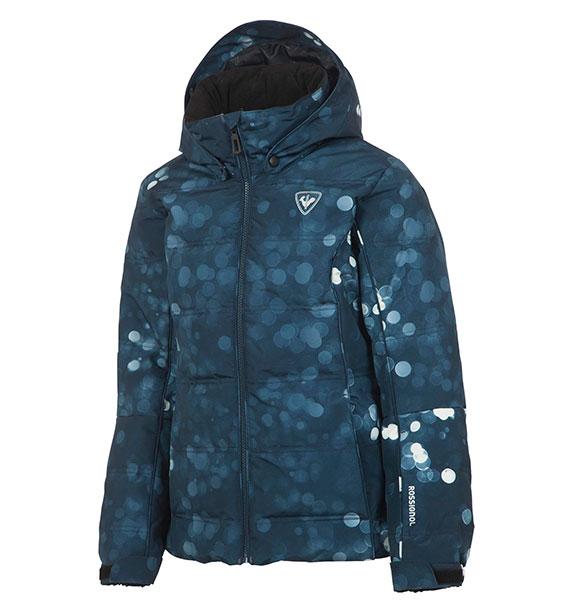 Rossignol GIRL POLYDOWN PR JKT dívčí modrá lyžařská bunda