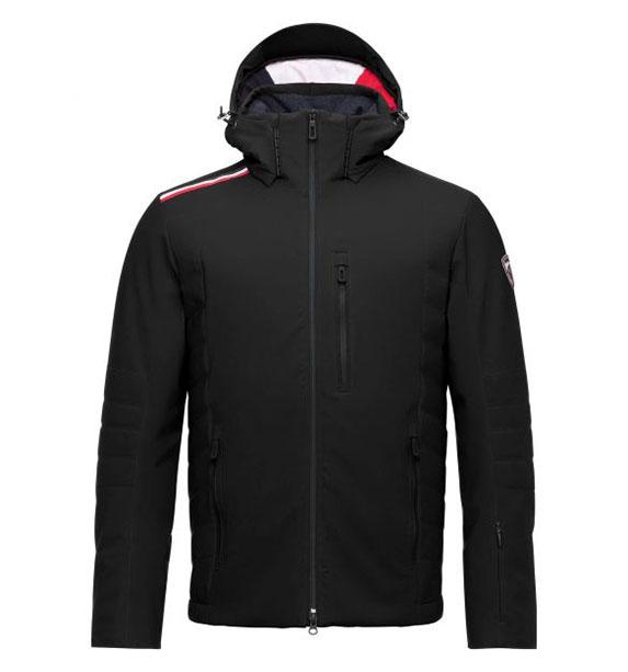 Rossignol MEDAILLE JKT pánská černá lyžařská bunda