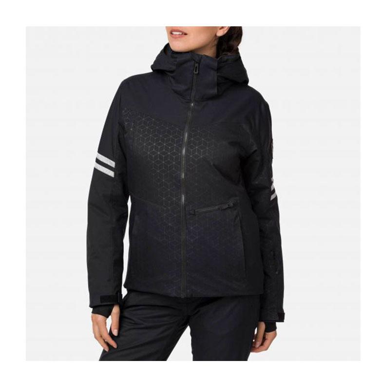 Rossignol W CONTROLE JKT dámská černá lyžařská bunda
