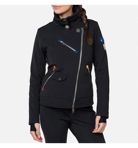 Rossignol W ALTIROCK JKT dámská černá bunda