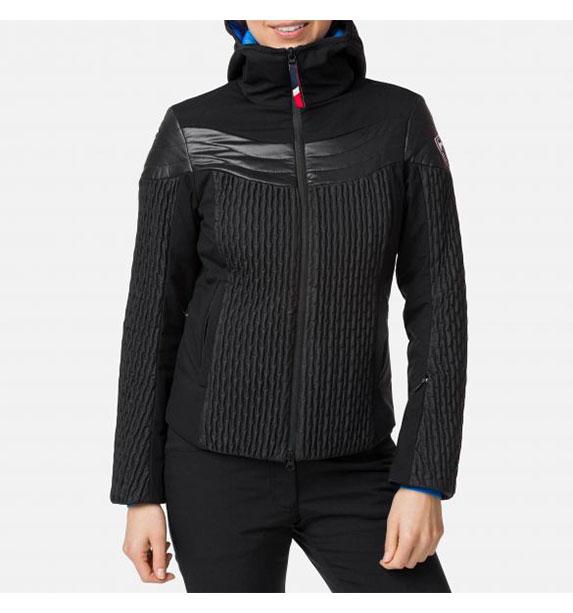 Rossignol W CINETIC SHORT JKT dámská černá lyžařská bunda