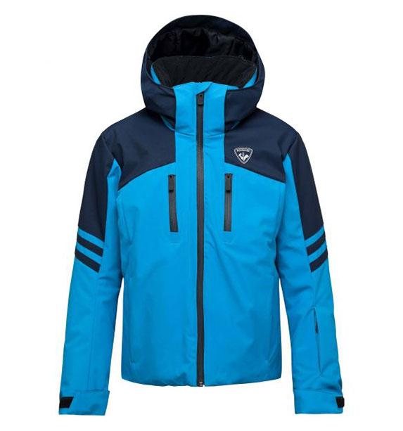 Rossignol BOY CONTROLE JKT chlapecká světle modrá lyžařská bunda