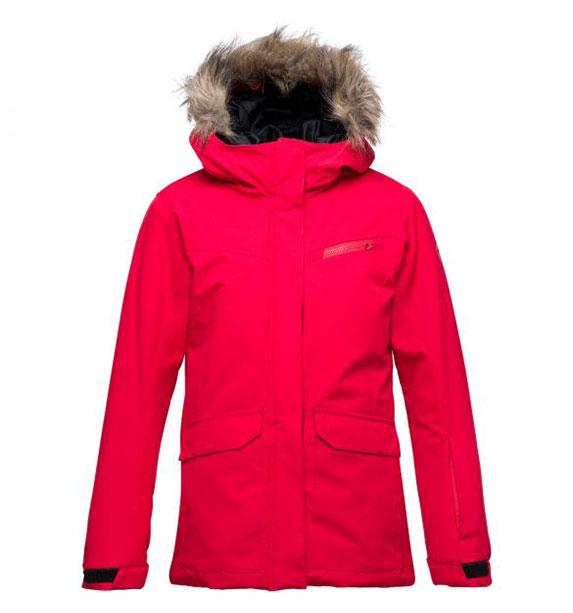 Rossignol GIRL PARKA JKT dívčí červená bunda