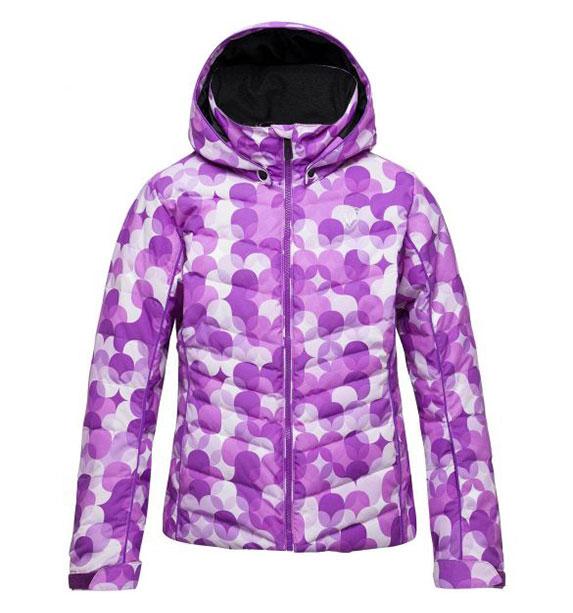 Rossignol GIRL POLYDOWN PR JKT dívčí fialová lyžařská bunda