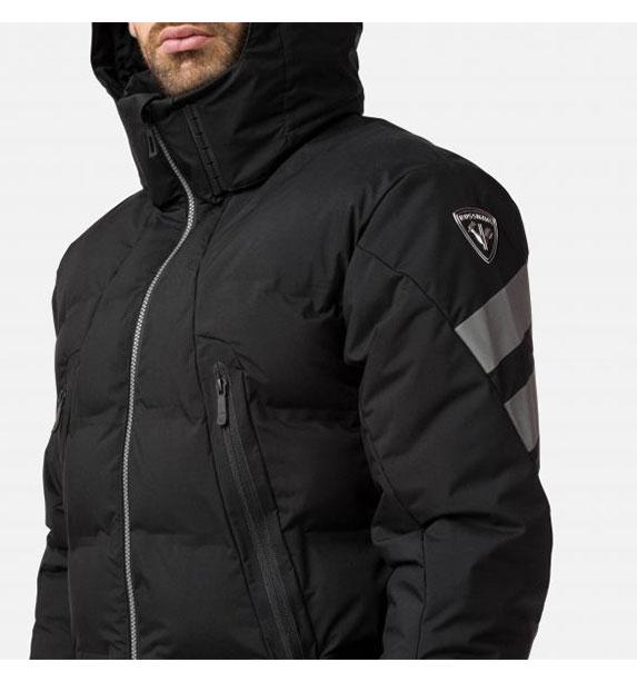 Rossignol DEPART JKT Black pánská lyžařská bunda