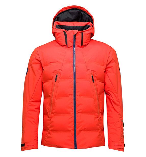 Rossignol DEPART JKT CRIMSON pánská lyžařská bunda