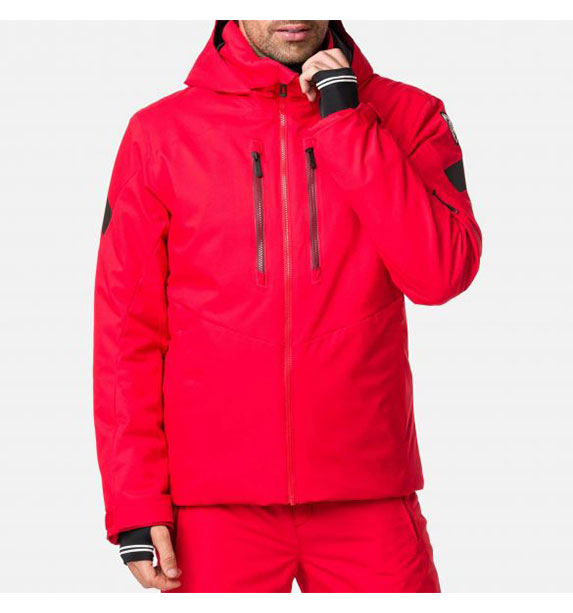 Rossignol FONCTION JKT SPORTS RED pánská lyžařská bunda