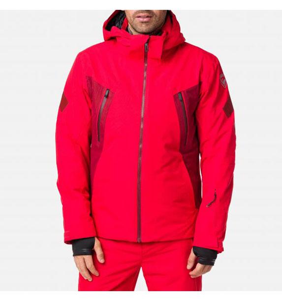 Rossignol CONTROLE JKT SPORTS RED pánská lyžařská bunda