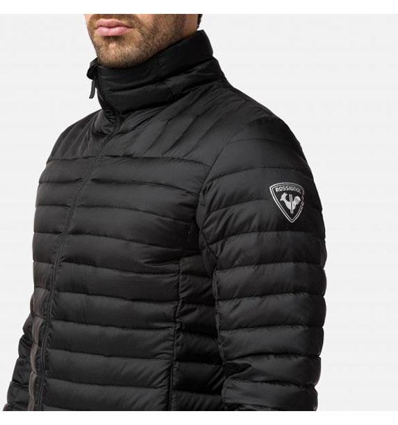 Rossignol LIGHT DOWN JKT Black pánská zimní bunda