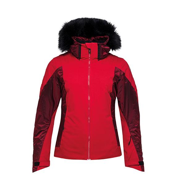 Rossignol W AILE JKT RED dámská lyžařská bunda