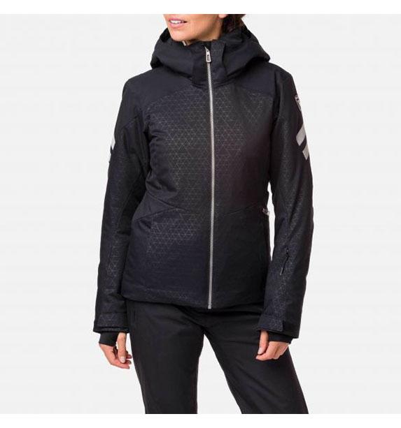 Rossignol W CONTROLE JKT BLACK dámská lyžařská bunda