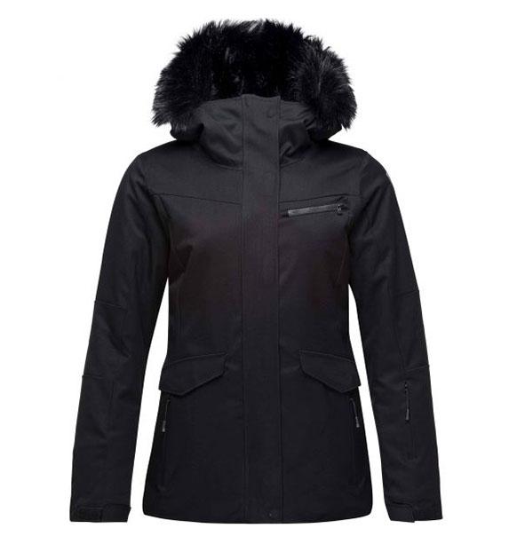 Rossignol W PARKA JKT BLACK dámská lyžařská bunda
