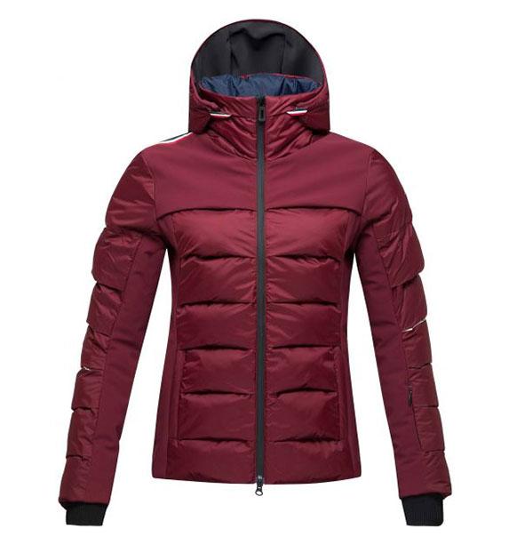 Rossignol W SURFUSION JKT dámská vínová lyžařská bunda